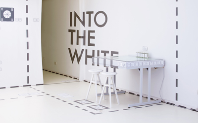 Event Installation INTO THE WHITE